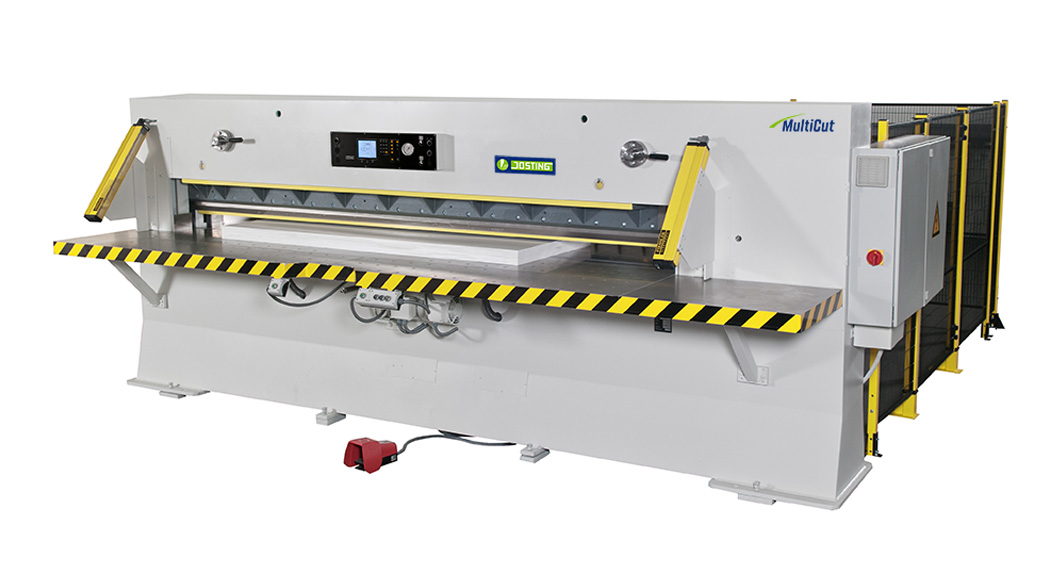 Hochleistungs-Stapelschneider-MultiCut Josting, High-Capacity Power Guillotine